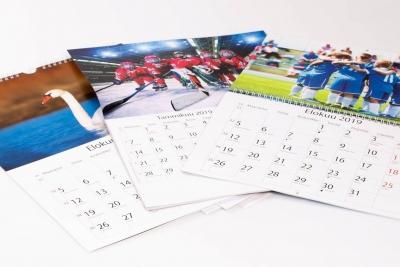 seinäkalenterit omilla kuvilla