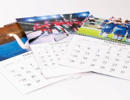 Seinäkalenterit vuodelle 2020
