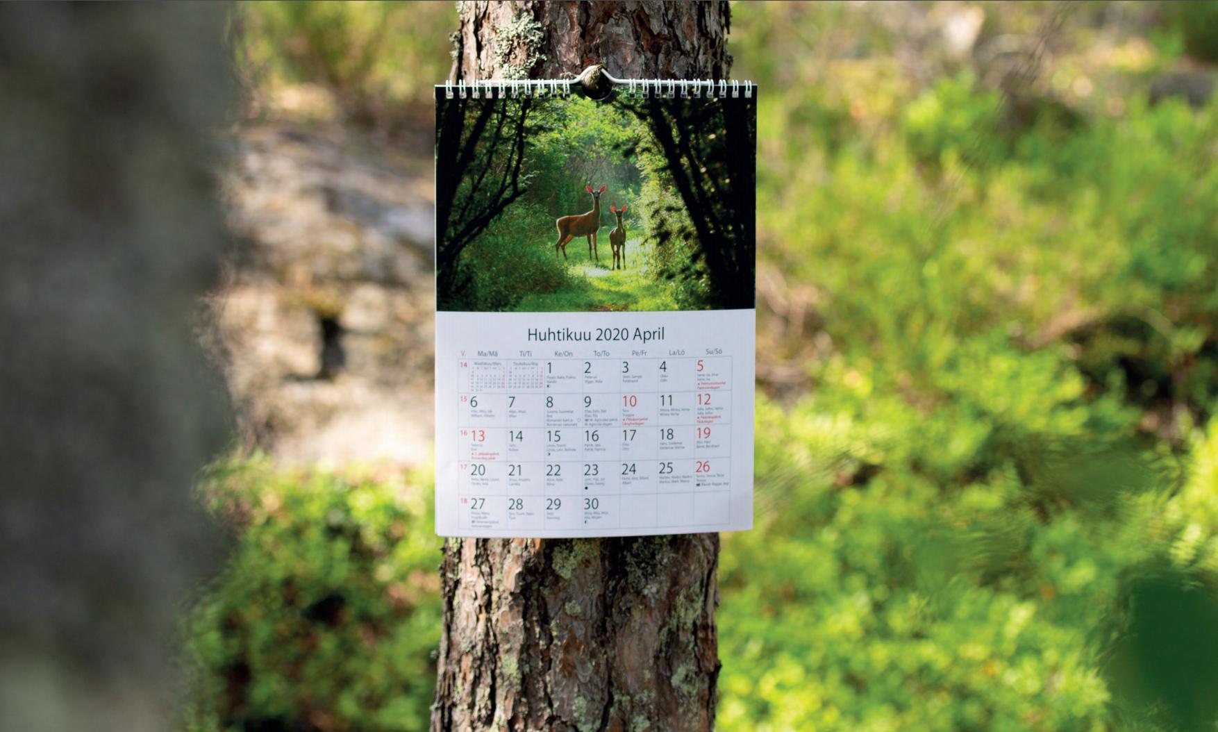 Kalenterin teettäminen